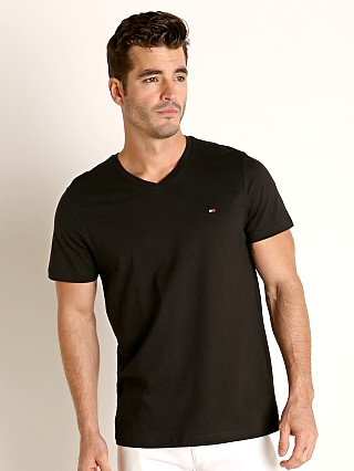 Complete the look: Tommy Hilfiger Core Flag V-Neck Tee Black