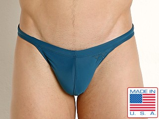 LASC Super Low Rise Swim Brief Teal