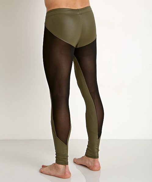 LASC Faux Leather Tight Olive