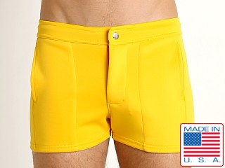 LASC Retro Coach's Short Gold
