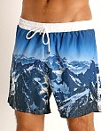 Hugo Boss Springfish Swim Shorts Blue, view 3