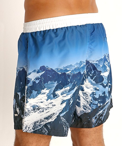 Hugo Boss Springfish Swim Shorts Blue