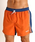 Hugo Boss Bluefin Swim Shorts Orange, view 3