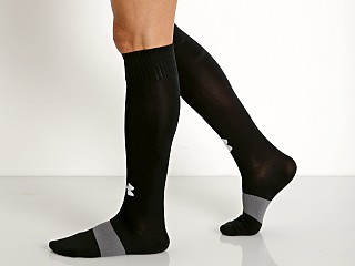 Under Armour Soccer Solid Over-the-Calf Socks Black