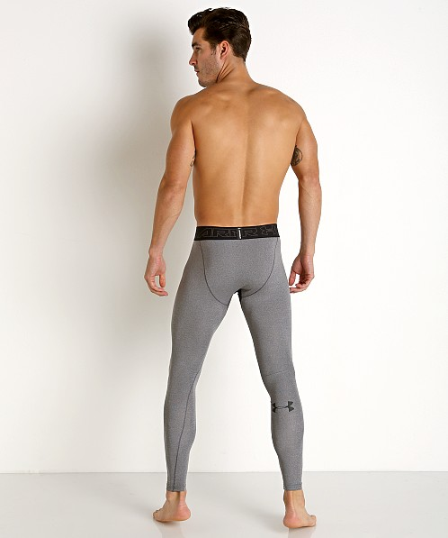 Under Armour ColdGear Compression Legging Charcoal Heather