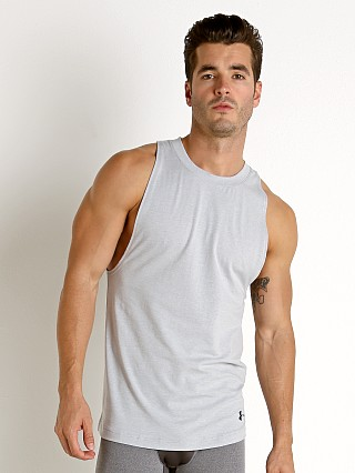 Complete the look: Under Armour Baseline Cotton Tank Top Mod Gray Light Heather