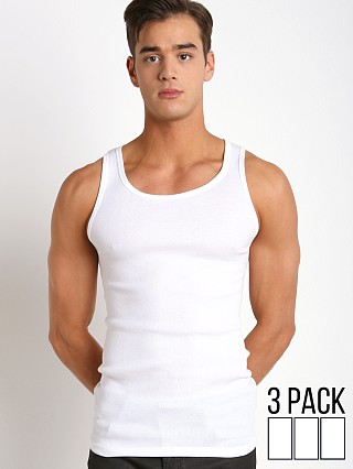 You may also like: Calvin Klein Cotton Classics Tank Tops 3-Pack White