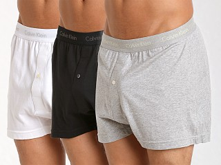 You may also like: Calvin Klein Cotton Classics Knit Boxer 3-Pack Grey/White/Black