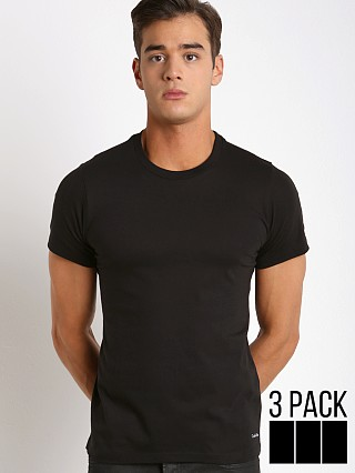 You may also like: Calvin Klein Cotton Classics Crew Neck Shirt 3-Pack Black