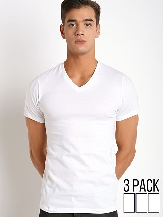 You may also like: Calvin Klein Cotton Classics V-Neck Shirt 3-Pack White