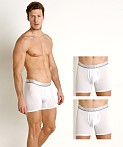 Calvin Klein Comfort Microfiber 3-Pack Boxer Brief White, view 1