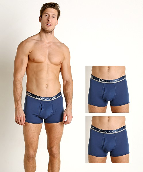 Calvin Klein Comfort Microfiber Trunk 3-Pack Airforce