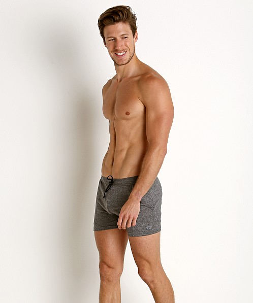 LASC Performance Gym Trunk Heather Silver