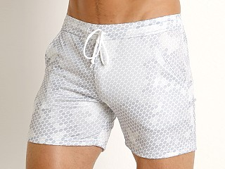 Complete the look: LASC Printed Performance Short White Pac Man