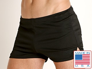 LASC Lined Runner Short Black