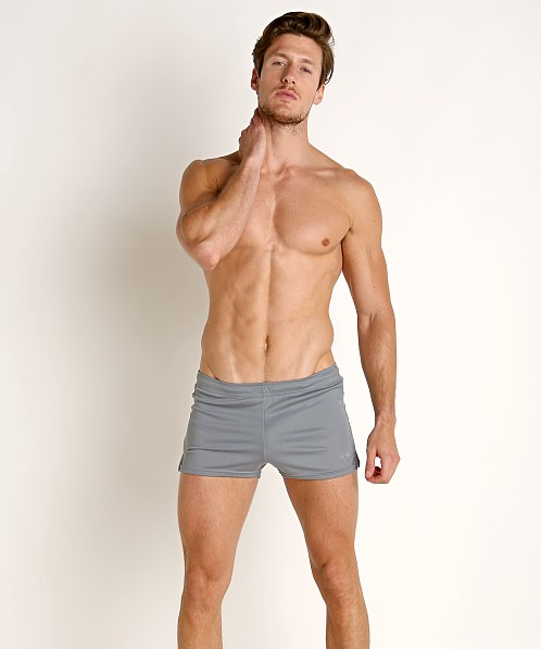 LASC Lined Runner Short Charcoal