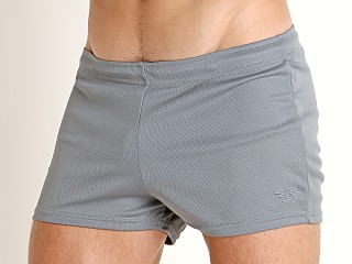 Complete the look: LASC Zip Pocket Short Charcoal