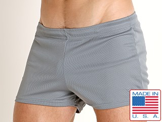 LASC Zip Pocket Short Charcoal