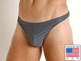 LASC Brazil Swim Thong Charcoal
