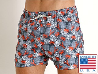 LASC Parachute Poly Swim Boxer Lobster
