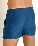 LASC Malibu Swim Shorts Teal, view 4