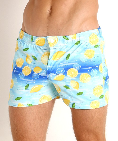 LASC Malibu Swim Shorts Iced Lemonade