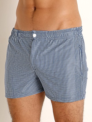 You may also like: LASC Malibu Swim Shorts Navy Gingham Checks