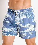 Hugo Boss Spotfish Swim Shorts Blue, view 3