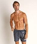Hugo Boss Octopus Swim Shorts Charcoal, view 2