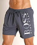 Hugo Boss Octopus Swim Shorts Charcoal, view 3
