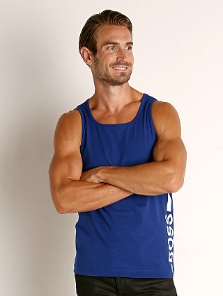 Complete the look: Hugo Boss Beach Tank Top Blue