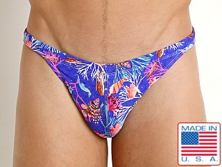 LASC Super Low Rise Swim Brief Royal Undersea