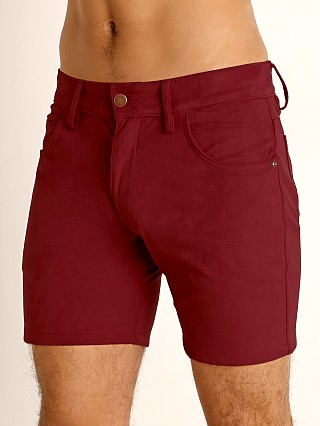 You may also like: LASC Stretch Suede 5-Pocket Shorts Merlot