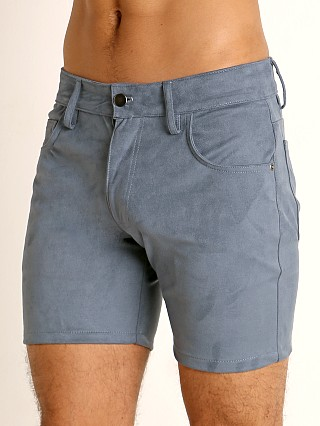 You may also like: LASC Stretch Suede 5-Pocket Shorts Blue Steel
