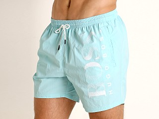 Hugo Boss Octopus Swim Shorts Aqua