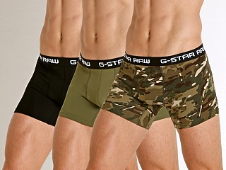 You may also like: G-Star Classic Stretch Jersey Trunks 3-Pack Khaki/Sage/Black