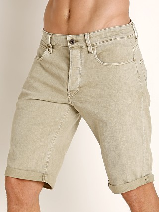 G-Star 3301 Inza Stretch Denim Shorts Khaki