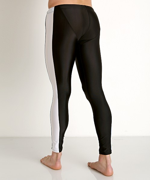 American Jock Sports Warm-Up Tights Black Combo