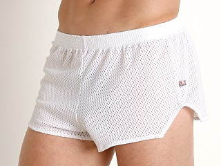 Complete the look: American Jock Team Mesh Short White