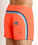 "Sundek 14"" Classic Low-Rise Boardshort Fluo Orange 8, view 4"