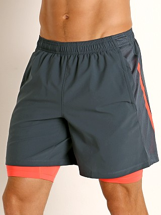 Under Armour Launch SW 2-in-1 Men's Running Shorts Wire