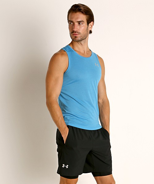 Under Armour Streaker 2.0 Running Tank Top Ether Blue