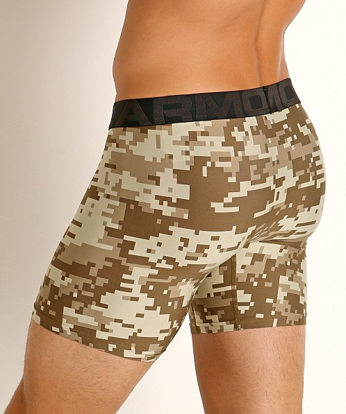 Under Armour Tech Printed Boxerjock 2-Pack Canyon Green