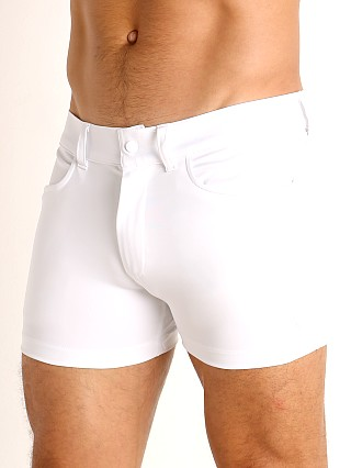 Complete the look: LASC Retroactive Scouting Shorts White