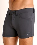 LASC Retroactive Scouting Shorts Graphite, view 3