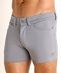 LASC Retroactive Scouting Shorts Silver, view 3