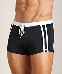Sauvage Riviera Swim Short Black, view 3