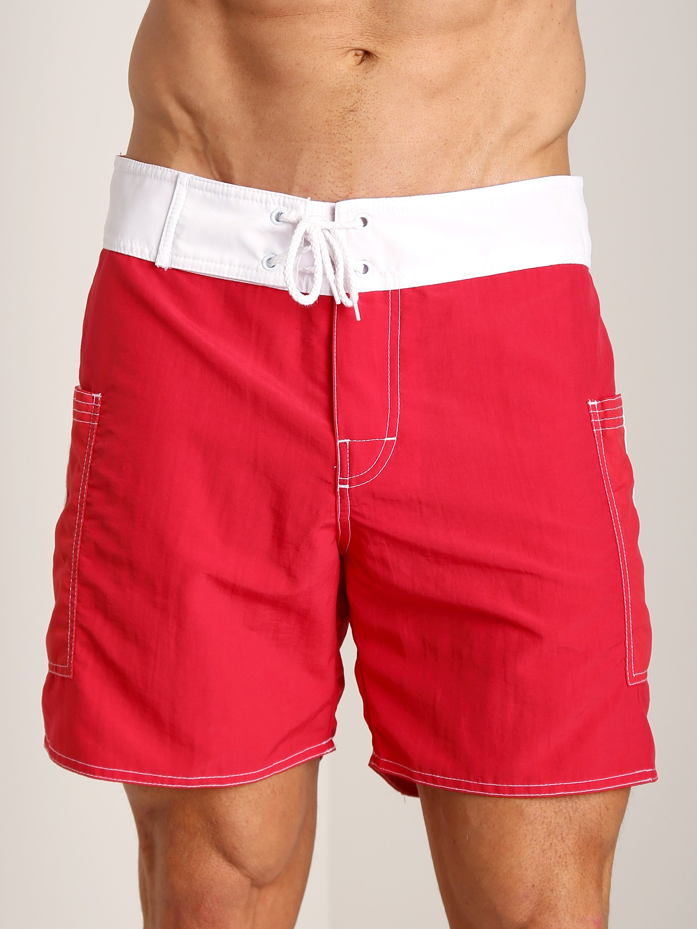 Sauvage Pocketed Board Shorts Navy//White