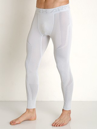 Complete the look: Under Armour Threadborne Seamless Leggings White/Overcast Gray