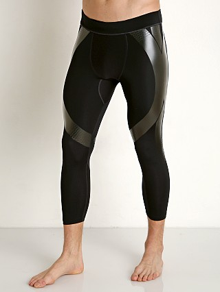 Under Armour Perpetual Powerprint 1/2 Leggings Black/Black